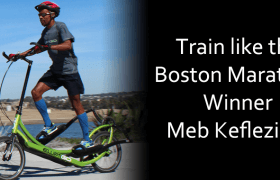 Meb Keflezighi wins Boston Marathon with help of ElliptiGO